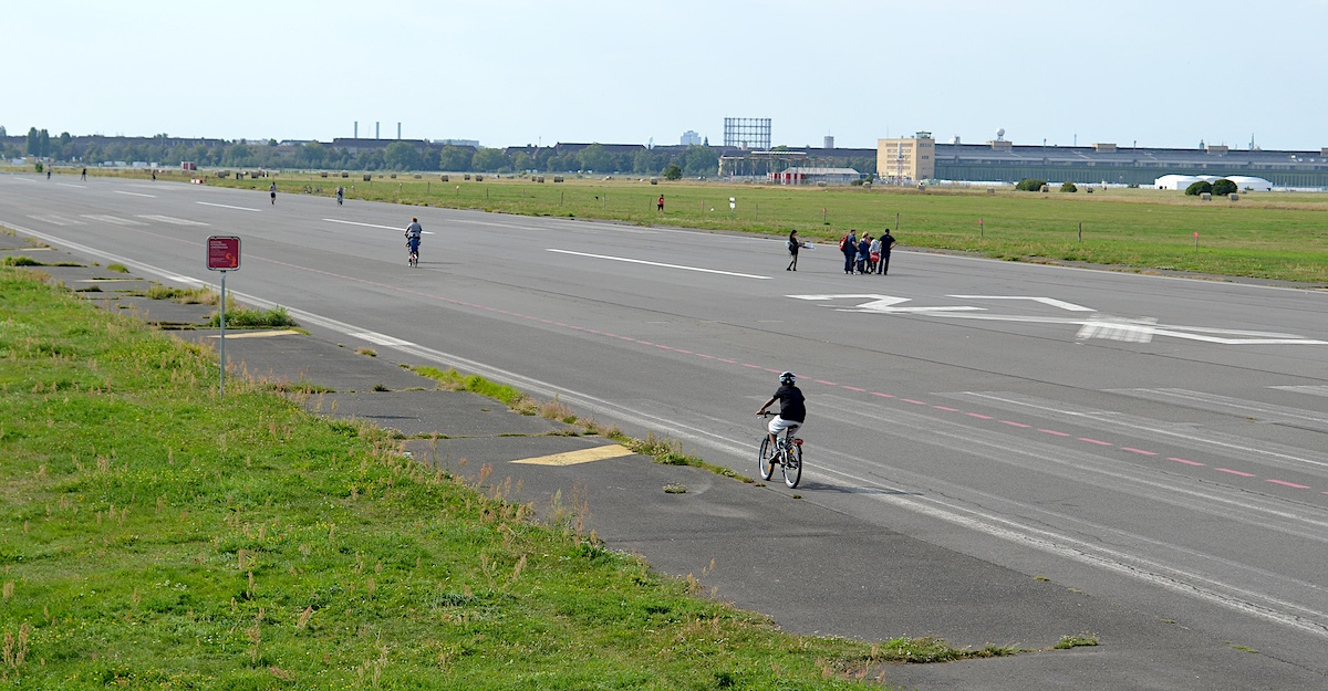Image result for Tempelhof Airport park""
