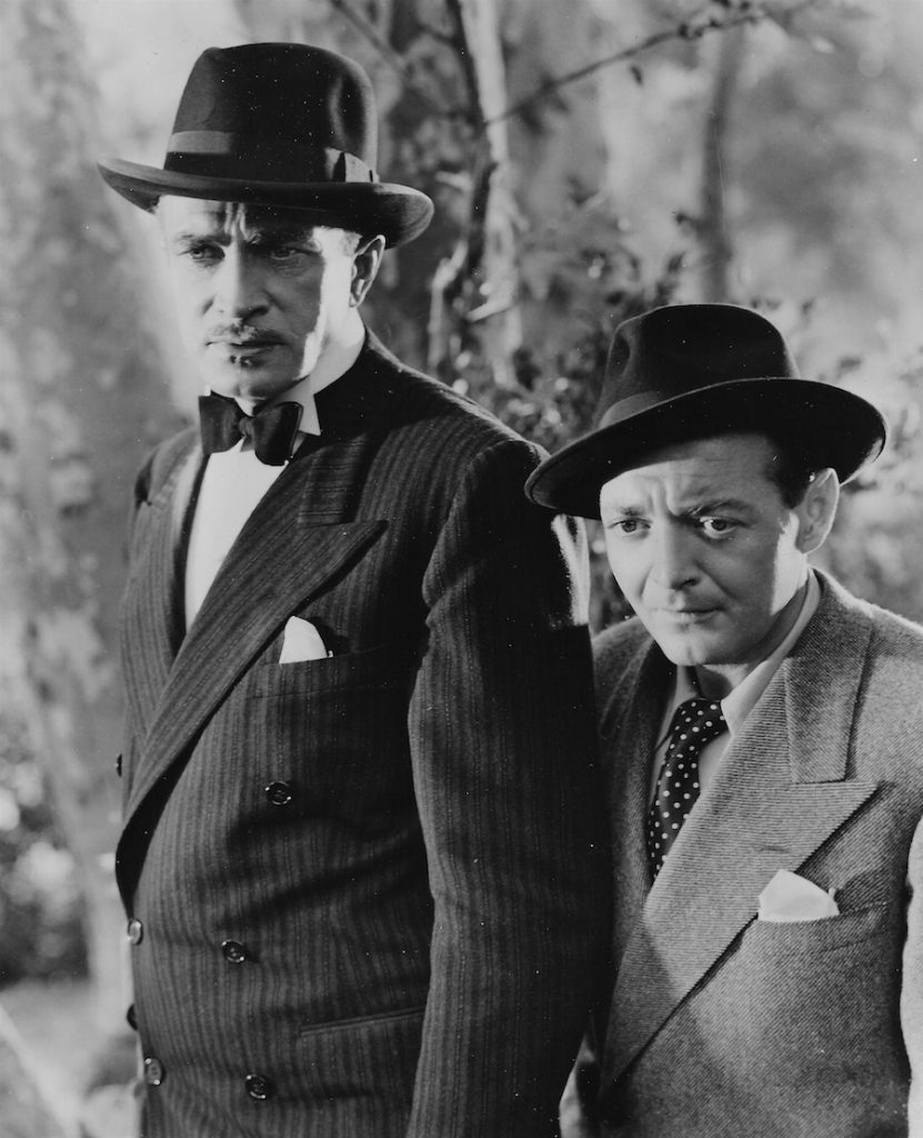 Conrad Veidt and Peter Lorre in 'All Through the Night'