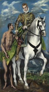 St Martin and the beggar