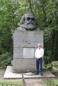 Karl Marx grave in London