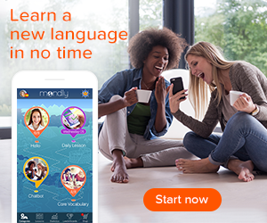 Mondly language learning